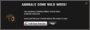 Animals Gone Wild Komodo Dragon