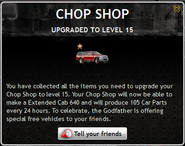 Chop Shop Level 15
