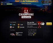 Fight Club Heavyweight champion