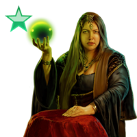 Huge item fortuneteller emerald 01
