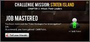 Staten Island Chapter 2 Job 3 Mastered