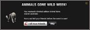 Animals Gone Wild Snow Leopard
