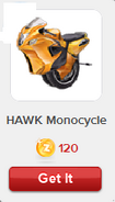 RV HAWK Monocycle
