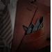 Standard 75x75 T5 Collection Handkerchief Four Points Black 75x75