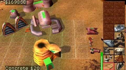 Dune 2000 - (PSX) Gameplay