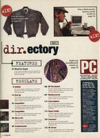 PC Zone Issue 1 Contents 2