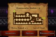 Homunculus Bunker - Gold (notes)