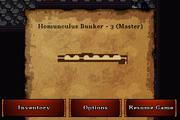 Homunculus bunker 3 master