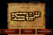 The Crypt - Bronze (notes)