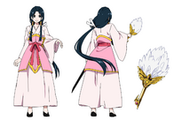 Hakuei anime design