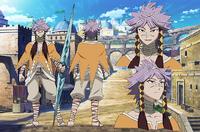 Vittel's design in the anime