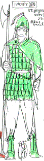 Partevia's soldier costume