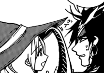 Yunan and Sinbad interacting