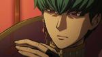 Barbarossa's face in the anime