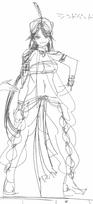 Sinbad's initial female version