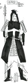Kou's soldier costume