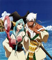 Anime Sharrkan Yamraiha arguing