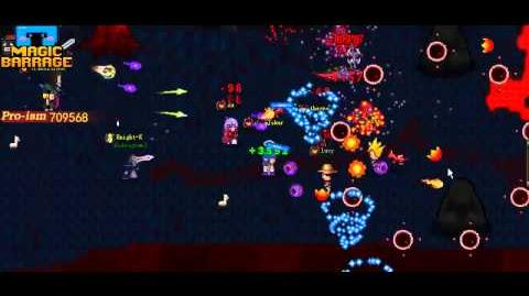 Magic Barrage Game Video Released