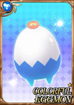 Colorful Eggmon full card