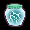 Bottle that holds Lightening icon