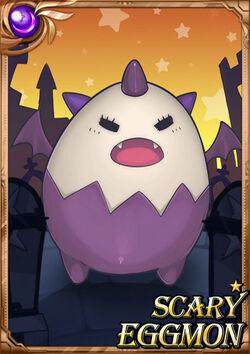 Scary Eggmon F1