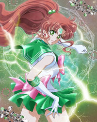 Sailor Jupiter Crystal cover