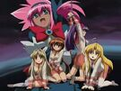 Guardian Hearts! Power Up! Hina, Chelsea, Maya, Kurusu and Hime2