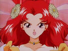 Wedding Peach Angel Salvia using the Bridal Dress Change