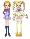 Yes! Pretty Cure 5 Urara pose