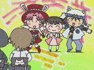 Full Moon wo Sagashite Mitsuki, Meroko and Takuto9