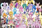 Pretty Cure All Stars DX3 All Pretty Cures power up speech