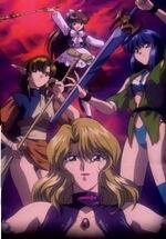 Megami Paradise op villains