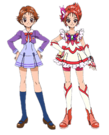 Yes! Pretty Cure 5 Rin pose