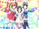 Kaitou Tenshi Twin Angel Tokimeki Paradise Twin Angel and White Angel transformation pose