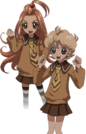 Sugar Sugar Rune Chocolat and Vanilla pose