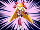 Powerpuff Girls Z Robo Blossom transformation pose2