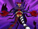 Powerpuff Girls Z Him using his dark powers