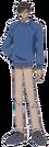 Card Captor Sakura Toya pose5
