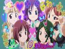 Fight Ippatsu! Juuden-chan!! Rinko, Maako, Taako, Chiiko and Sokko