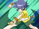 Powerpuff Girls Z Kaoru in her transformation0