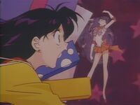 Sailor Moon Sailor Stars Sailor Mars in the Opening