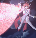 Magical Canan Magical Angel Carmein using her attack24