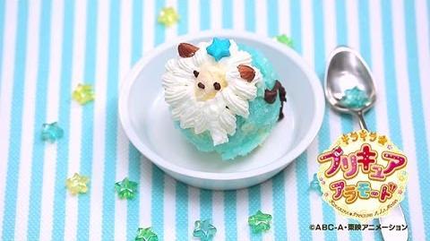 【アニマルスイーツレシピ】 らいおんアイスの作り方ムービー