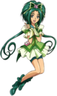 Pretty Cure All Stars DX2 Cure Mint pose
