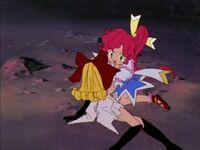 Magical Princess Natural Lychee saving her friend