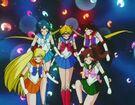 Sailor Moon S Inner Senshi using the Sailor Planet Attack