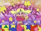 Yume no Crayon Oukoku Princess Silver using her Happy Dance bracelet