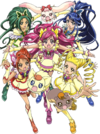 Yes! Pretty Cure 5 Group pose2