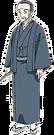 Rakugo Tennyou Oyui Fuji pose