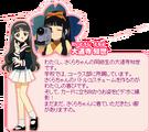Card Captor Sakura Tomoyo Daidouji Profile